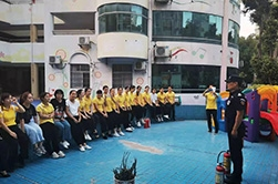 幼儿园消防培训